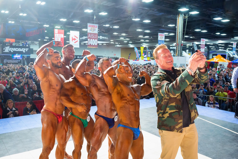 Follow @ArnoldSports Social Networks